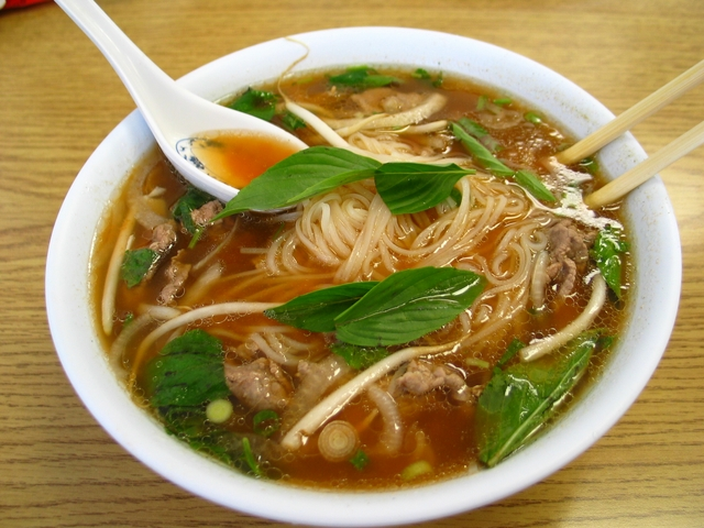 Vietnamese food Pho