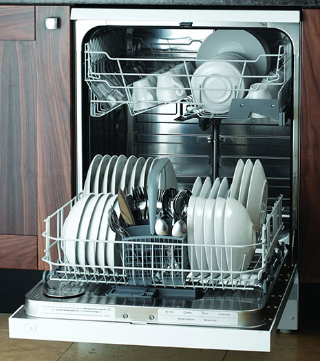 spots to hide snacks the dishwasher