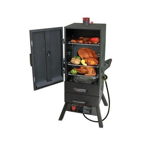 Cooking tips with a gas smoker