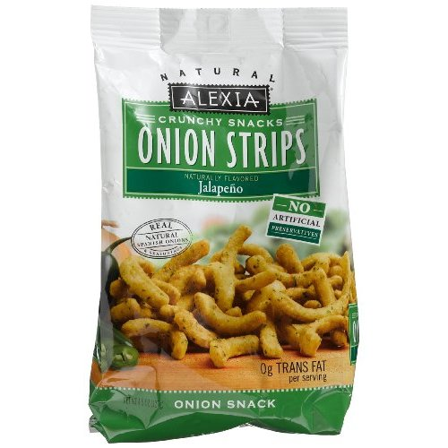 tasty hot chips Alexia Onion Strips Jalapeno